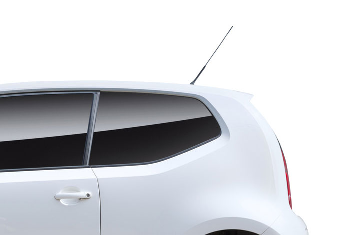 particulars of antenna and car roof